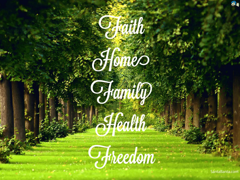 Faith Home Family Health Freedom