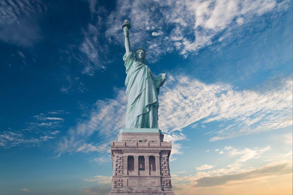 Statue of Liberty - Fourth of July