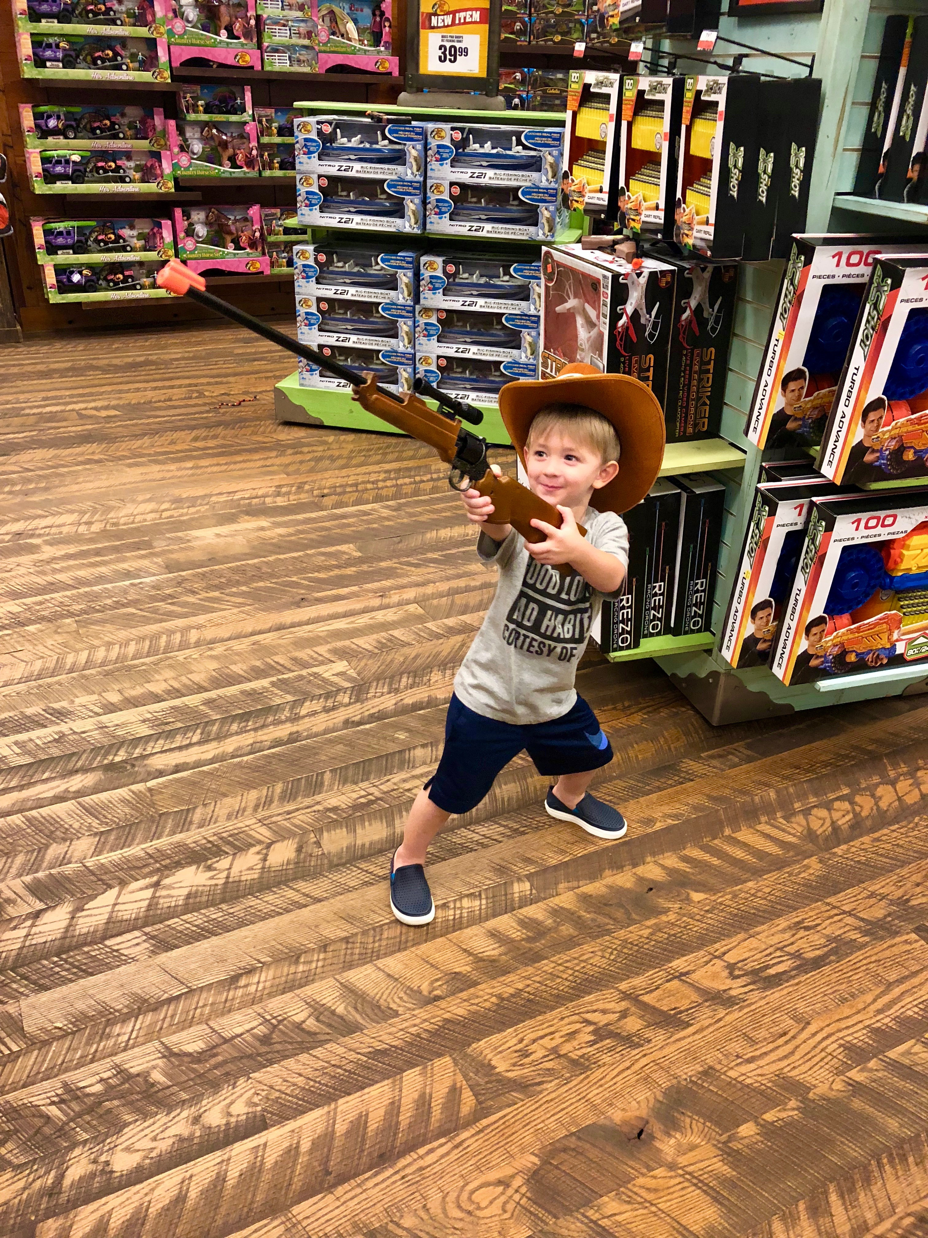 Watch out, cowboys! The Sheriff is in town.
