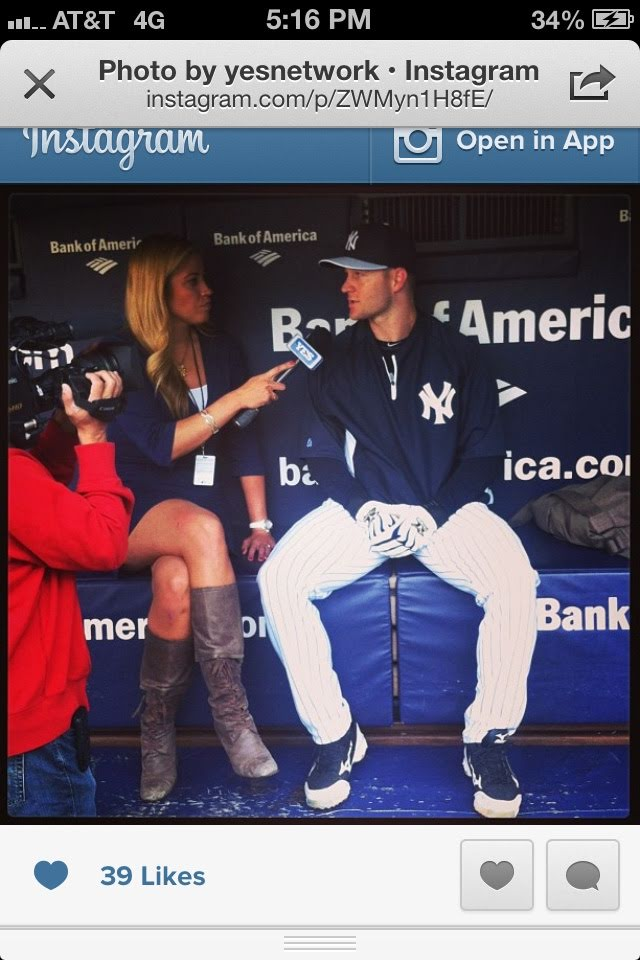 David's first interview the day he was called up.